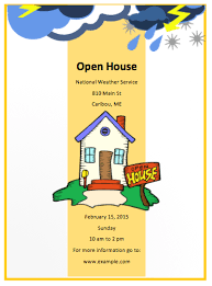 open house flyers template open house flyer template free flyer templates