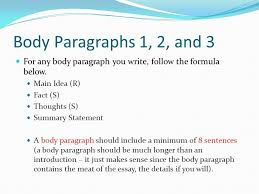 jane schaffer writing process ppt 4 body paragraphs