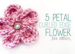 Crochet Flowers Patterns Gorgeous Free Crochet Pattern 48 Petal Curled Edge Flower Little Monkeys