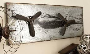 metal airplane decor you ll love in