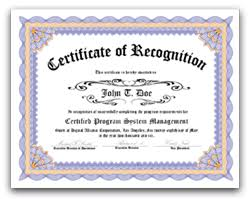 We Sell Certificate Of Recognition Appreciation Awards Service