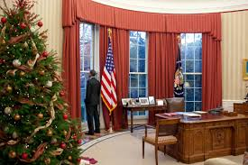 inside the oval office. The Oval Office With New Draperies At Christmas, 2010 (White House - Pete Souza) Inside