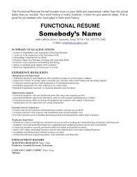 Resume Employment History Fresh Employment History Resume Examples