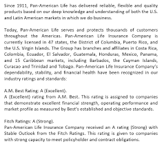 American reliable insurance company agents offer 24/7 claims service for all of its products via the american reliable insurance company phone number. Pan American Life Insurance Company Medicare Supplement
