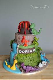 Dino Cake Cake By Tera Cakes Abbey Birthday In 2019 Dino Cake