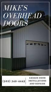 mike s overhead doors 12 photos garage door services 202 w market st greenwood de phone number yelp