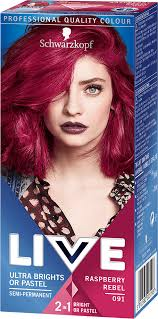 091 Raspberry Rebel Hair Dye By Live