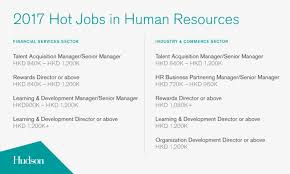 Hong Kongs Most In Demand Roles And Salaries Human Resources Online