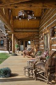 log cabin porch lighting. montana log homes:: the handcrafted alternative cabin porch lighting h