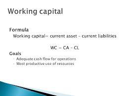 working capital equation jennarocca
