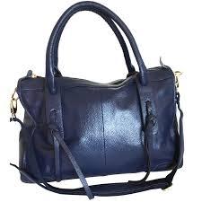 georges rech handbag handbags leather navy blue ref 74543