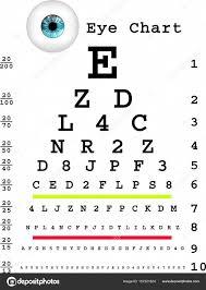 Eye Chart Template Download Eye Chart Template Stock Vector Elenabaryshkina 157321824