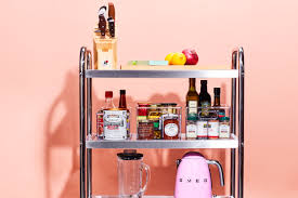 how to turn a kitchen cart into a comprehensive prep station