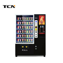 Vending Machine Code For Change Stunning China Tcn Cup Noodle And Coffee Combination Vending Machine With