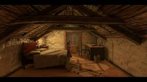 The room in the attic - Unity Render