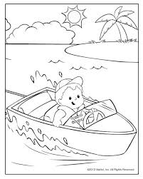 Coloring Pages For Kids What Are The Little People Friends Doing