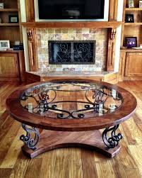 wrought iron furniture designs. this custom coffee table showcases solid mesquite wood with beautiful hand forged wrought iron designs seen furniture t