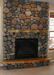 Magnificent Faux Stone Electric Fireplace Home Ideas Faux Stone Fake Stone Fireplace