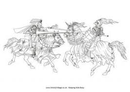 100% free fairy tale coloring pages. Knight Colouring Pages