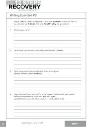 Free Printable Life Skills Worksheets Cbt For Adults Learning English