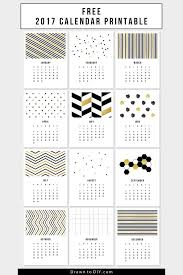 2017 vintage botanical calendar