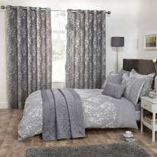 modern beautiful grey bedding sets king lostcoastshuttle set blossom gray bedroom size pintuck comforter full plain