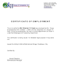 Request Letter For Employment Certificate Ideas Copy Certificate