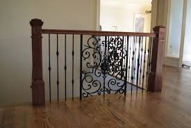 charming banisters design and handrails with hardwood flooring for home interior design