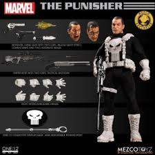 Mezco Toyz One:12 Collective Classic Punisher -4ColorHeroes