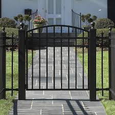 Small Picture Metal Fence Gates Basic Wrought Iron Driveway Beverly Hills Garden