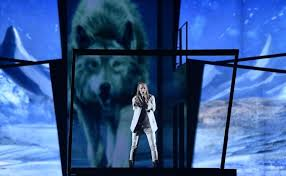 Eurovision 2016: Belarus singer IVAN appeared naked on stage with a wolf  because of course he did | BT