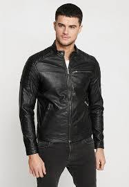 jcorocky jacket faux leather jacket black