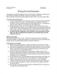 Personal Statement Grad School Samples Mba Program Mba Program Personal Statement