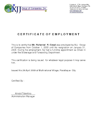Internship Certificate Sample Bank New Sample Of Work Certificate