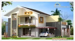kerala moderrn style elevation ground floor â 1300 sq ft first floor â 550 sq ft total area â 1850 sq ft bedroom â 4 bathroom â 4