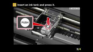 Canon Ip110 Ink Cartridge Red Light Pixma Ip110 Installing The Ink Tanks