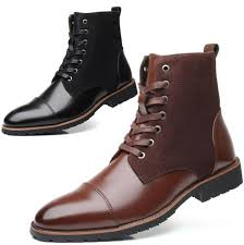 Oliberte Size Chart Mens Lace Up Leather Formal Dress Chukka Chelsea Ankle Boots Casual Shoes Us6 13