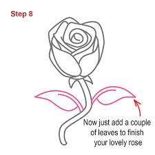 Small Picture How to draw how to draw a rose step by step Hellokidscom