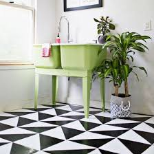 Patterned Linoleum Flooring Simple Learn How To Make Your Own Patterned Linoleum Tile Floor DIY For
