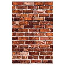 brick wall decal