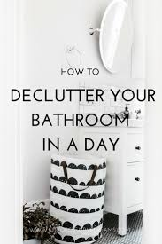 bathroom in a day. How Declutter Your Bathroom In A Day?   City Of Creative Dreams Day I