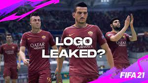 Logotipo do FIFA 21 Roma FC supostamente vazado