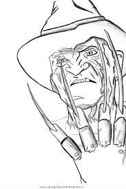 Disegno Freddykrueger5 Misti Da Colorare