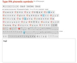 The phonetic symbols used in this ipa chart may be slightly different from what you will find in other sources, including in this comprehensive ipa chart for english dialects in wikipedia. International Phonetic Alphabet Fonts And Keyboards Maria Gouskova