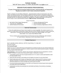 purchasing manager resume sample 1 manager resumes samples