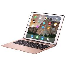 apple keyboard for ipad. for ipad pro 12.9 apple keyboard cases wireless 7 backlight rose gold bluetooth 13 inch clamshell