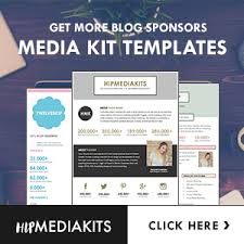 sales kit template 5 media kit templates that will win you more clients