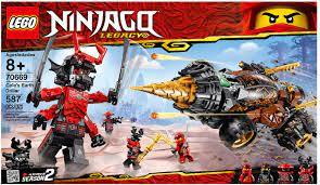 LEGO Ninjago Cole's Earth Driller Set 70669 -