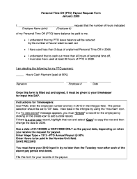 Personal Time Off Request Form Employee Time Off Request Form Pdf Fillable Printable Top Forms