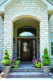 single glass front doors. Home Door Ideas Design Inspirations Delightful Front Porch Decoration Using Single Cherry Wood Fiberglass With Glass Including White Doors H